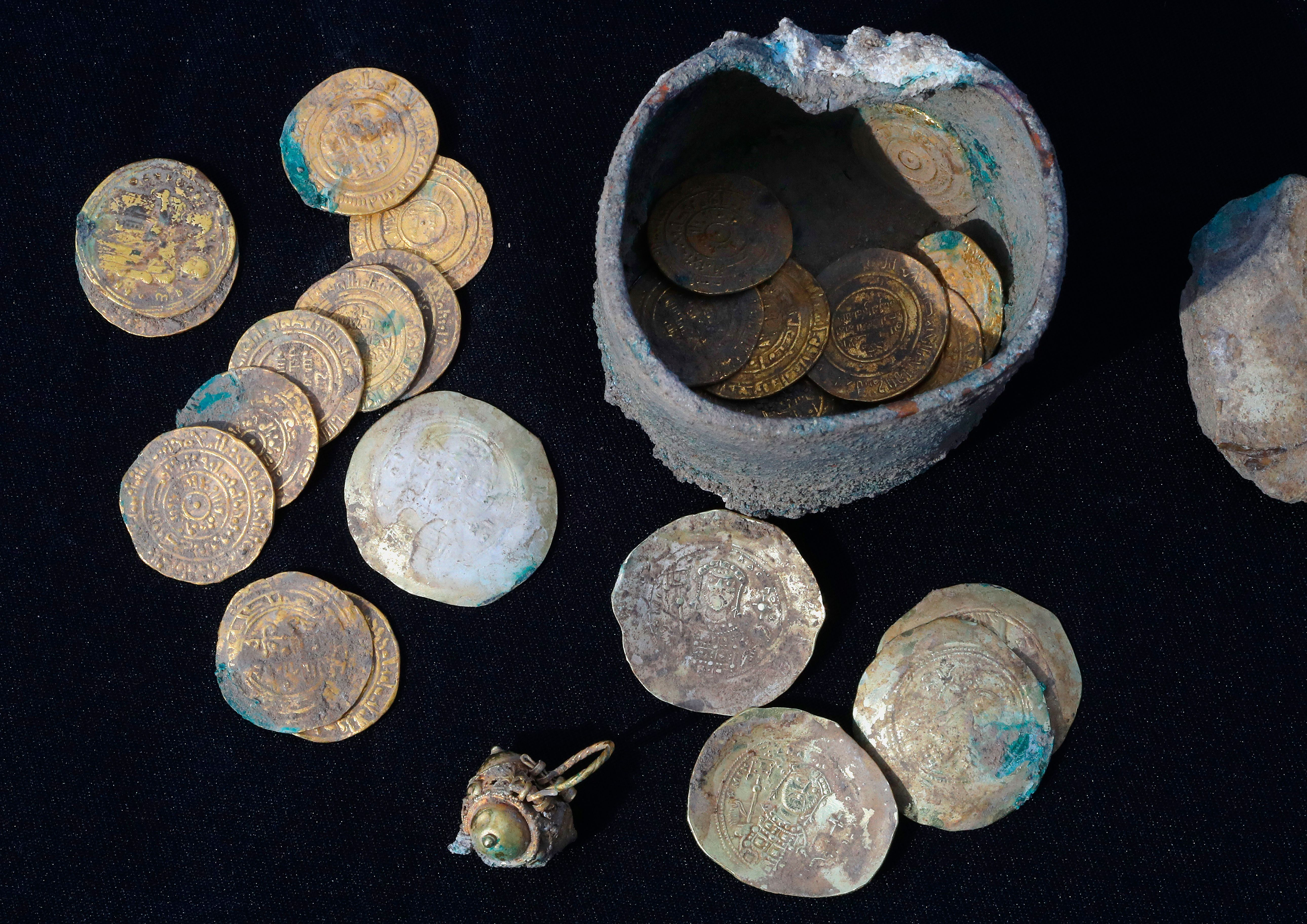 israel coin found from crusades