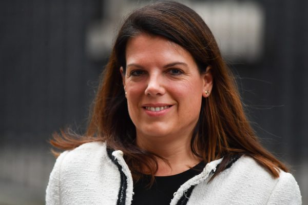 Britain's Minister of State for Immigration Caroline Nokes