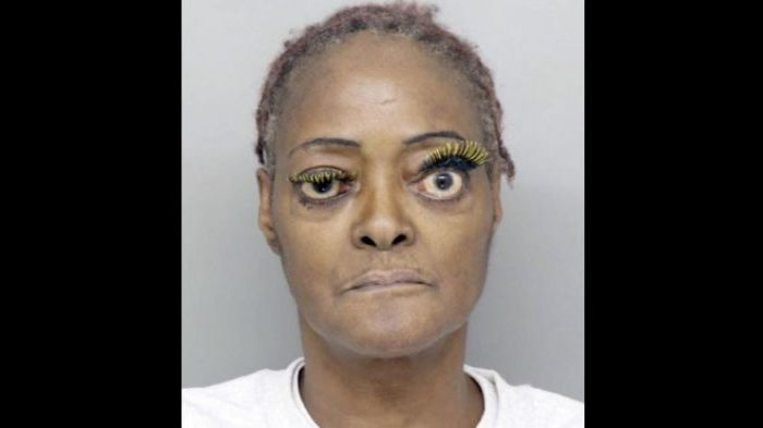 Charlene Thompson, 61, was arrested on Dec. 2 for allegedly pouring hot grease on a victim, according to police, who posted her mugshot online. (Hamilton County Sheriff's Office)