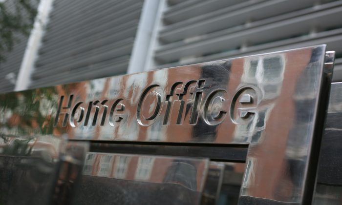 The Home Office in London on July 8, 2014. (Peter Macdiarmid/Getty Images)