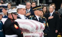 Videos of the Day: George HW Bush Laid to Rest