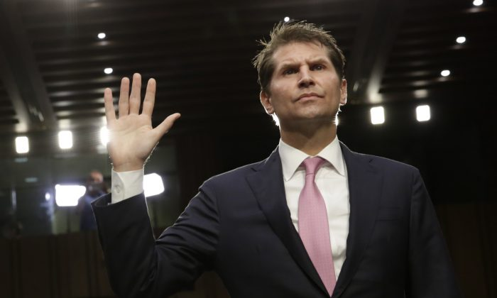 Bill Priestap, assistant director for the FBI's Counterintelligence Division; before the Senate Judiciary Committee hearing on Capitol Hill on July 26, 2017. (Yuri Gripas/AFP/Getty Images)