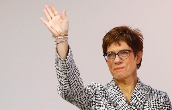 party chair Annegret Kramp-Karrenbauer