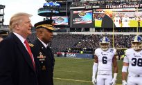 Videos of the Day: President Donald Trump Handles Coin Toss Before Army-Navy Game