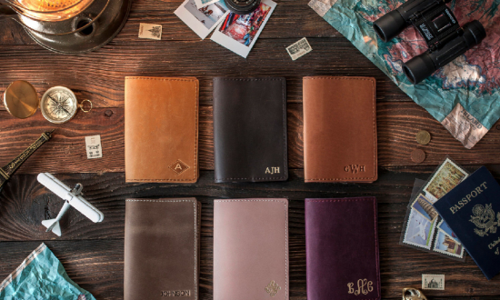 Thoughtful gifts for the travelers on your list. (SoGoodSoWood)