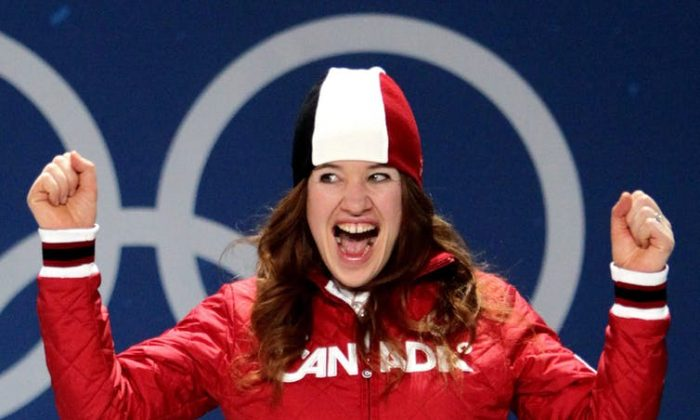 Canadian speed skater and cyclist Clara Hughes overcame a difficult childhood to become the only athlete in history to win multiple medals at both winter and summer Olympic Games. (THE CANADIAN PRESS/Darryl Dyck)