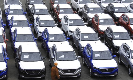 China's Auto Sales Fall in November for Fifth Month