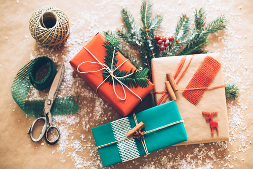 christmas gifts (Shutterstock)