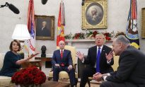 With Cameras Rolling, Trump Confronts Top Democrats Over Border Wall Funding