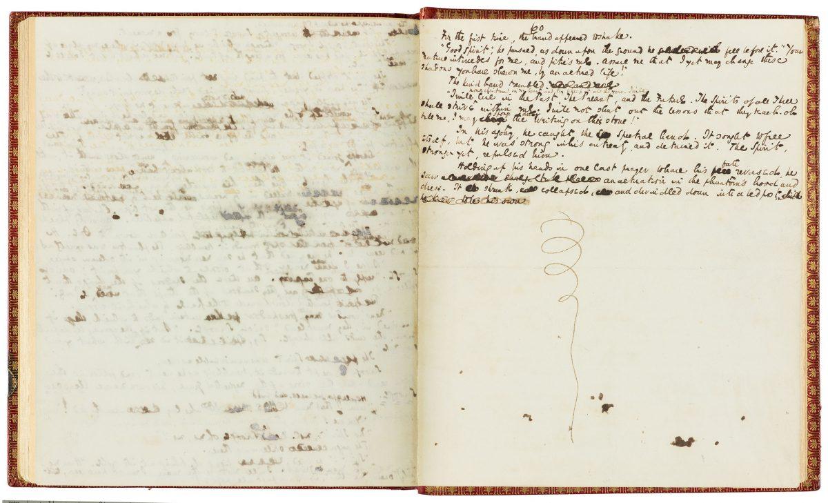 Charles Dickens Manuscript A Christmas Carol