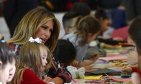 First Lady Melania Trump Makes a Little Girl's Dream Come True