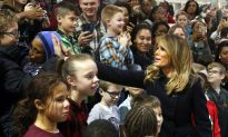 Videos of the Day: Melania Trump Visits Military Families