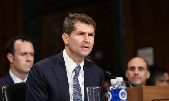 Bill Priestap, then-Assistant Director of the FBI's Counterintelligence Division, testifies before the Senate Judiciary Committee on Dec. 12, 2018. (Jennifer Zeng/The Epoch Times)