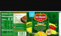 Del Monte Recalls Cans of Fiesta Corn Because of Potential Contamination