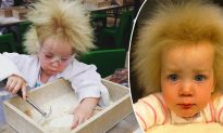 This young girl with 'uncombable hair syndrome' has hair like EINSTEIN, and she's loving it!