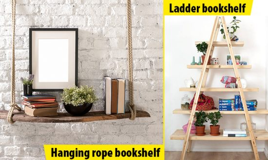 10 Great Ideas For Diy Bookshelves 3 Will Have You Wondering