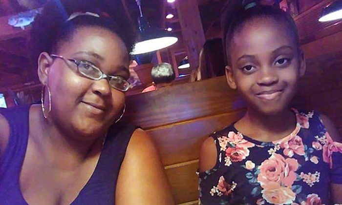 Jasmine Adams (L) says her daughter, McKenzie (R), took her own life after facing racial bullying at school. (Eddwina Harris/Facebook)
