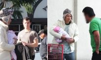 Beggar asks for money to feed baby, all ignore him except one homeless man