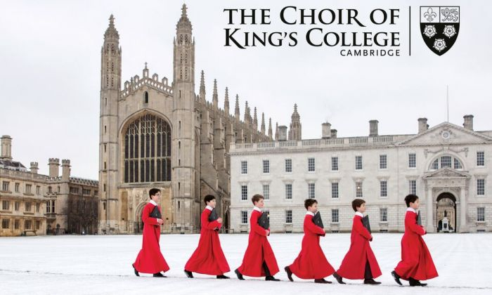 The new album by The Choir of King's College, Cambridge. (King's College)