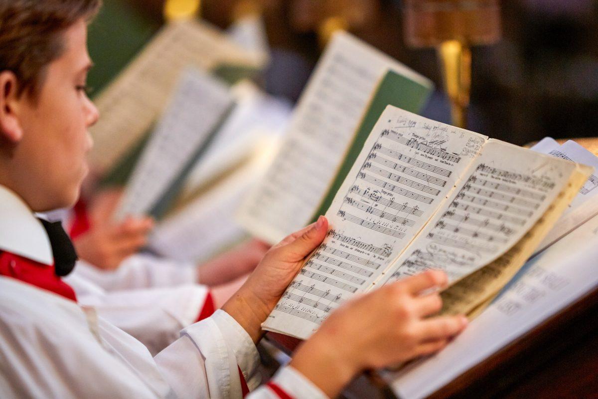King's College Chapel Chorister Sheet Music