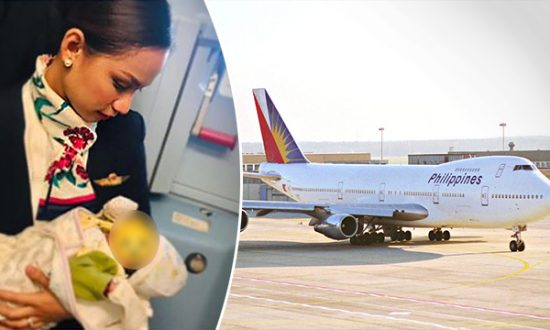 Flight Attendant Breastfeeds Baby Mid-Air When Mother Runs out of Milk Formula