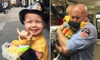 Terminally Ill Toddler Who Loved Firefighters Meets NYFD Heroes Before Passing Away