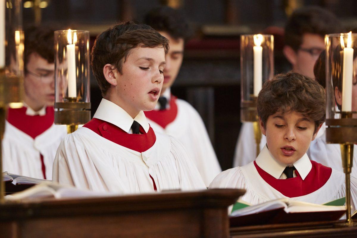 Kings College Chapel Choir Boys