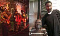 Hailed a hero: Teen kicks open neighbor's door to save him from house fire