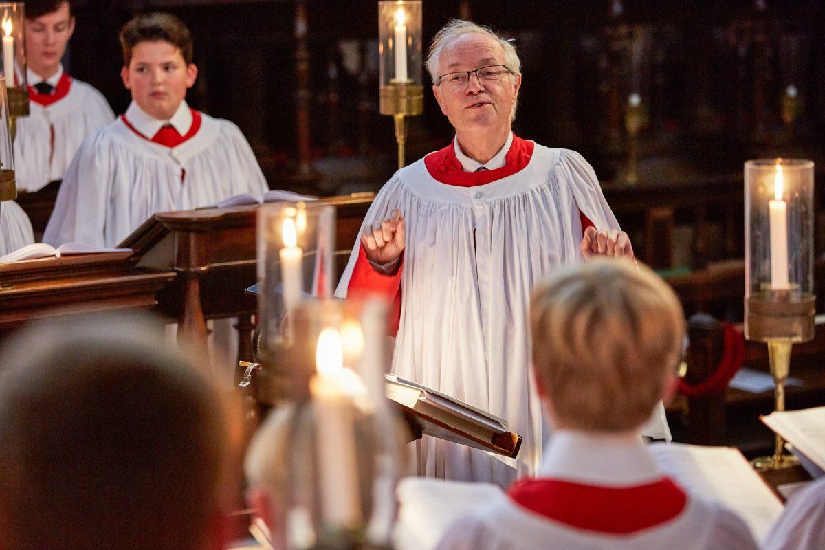 Stephen Cleobury Kings College Chapel Choir