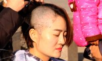 Wife Shaves Head to Protest Detention of Rights Lawyer Husband