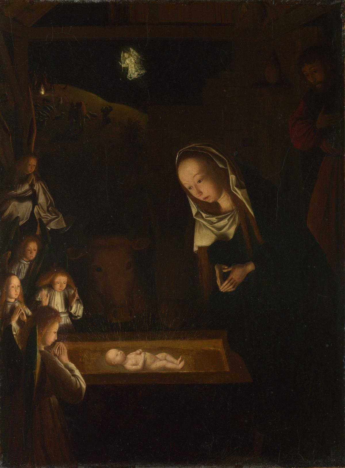 Geertgen_tot_Sint_Jans,_The_Nativity_at_Night,1490