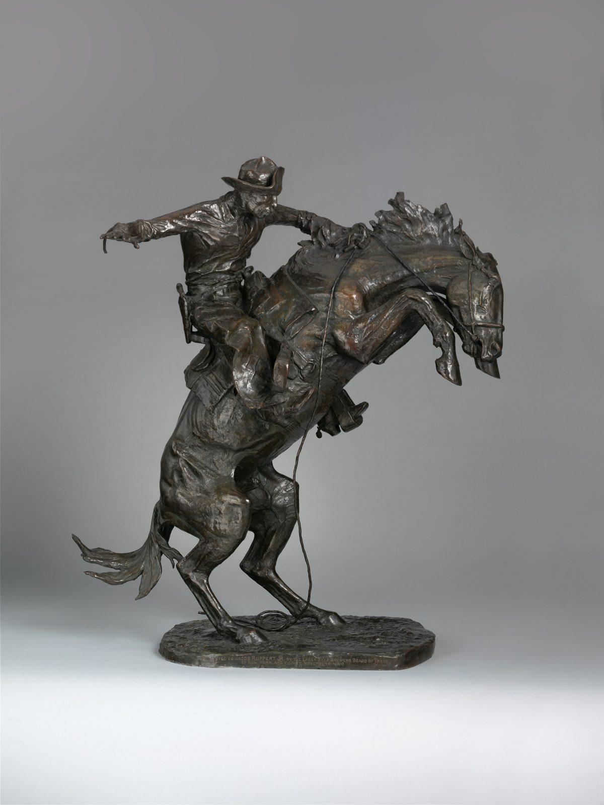 Frederic Remington Broncho Buster 1909