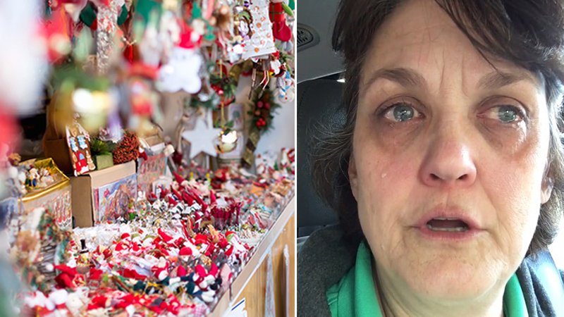 Retail worker catches shoplifter on Xmas Eve, but what he stole leaves her in tears