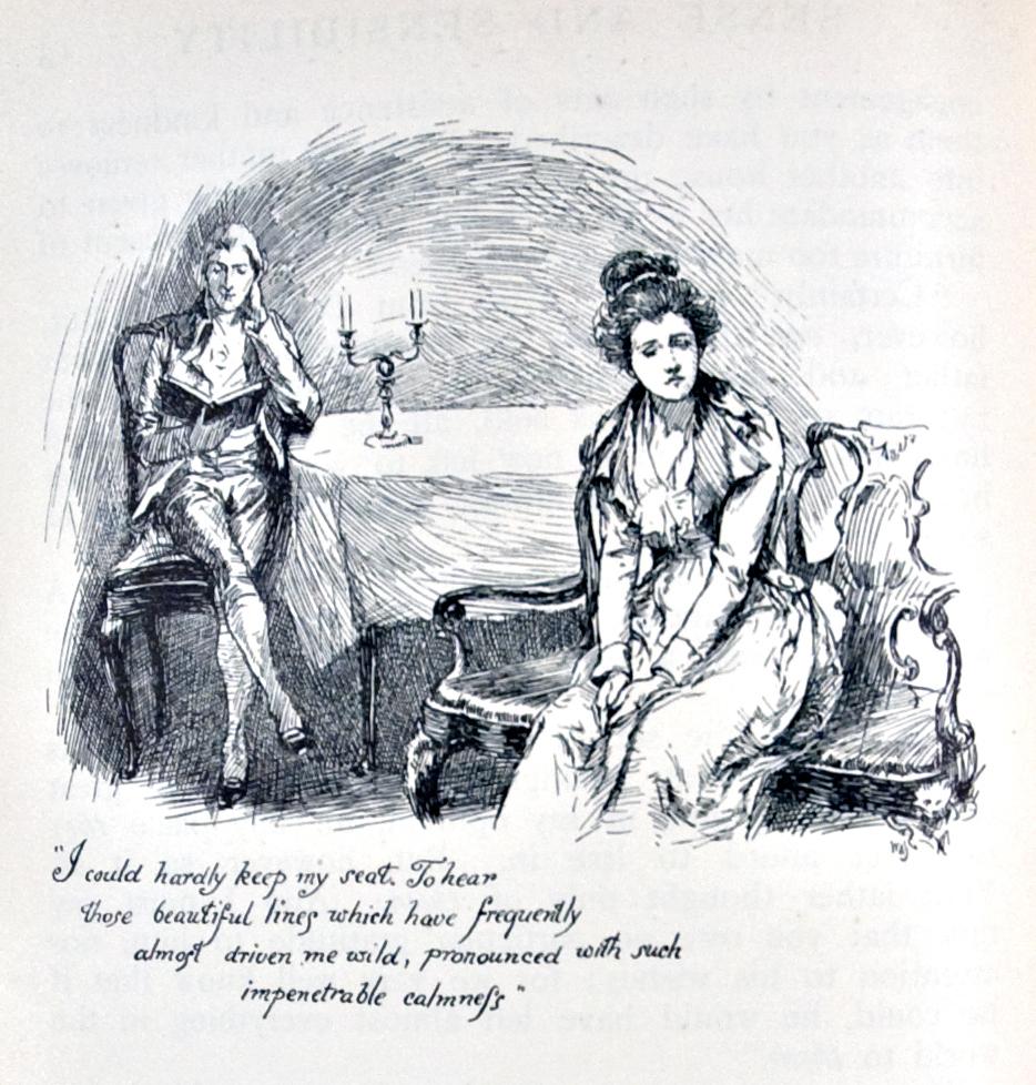 Illustration Chris Hammond 1899 Jane Austen