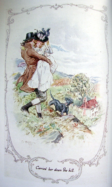 Illustration Jane Austen Sense and Sensibility C E Brock