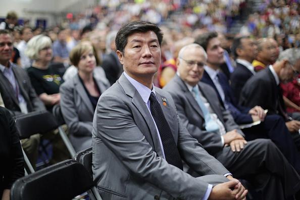 Tibetan President in exile Lobsang Sangay