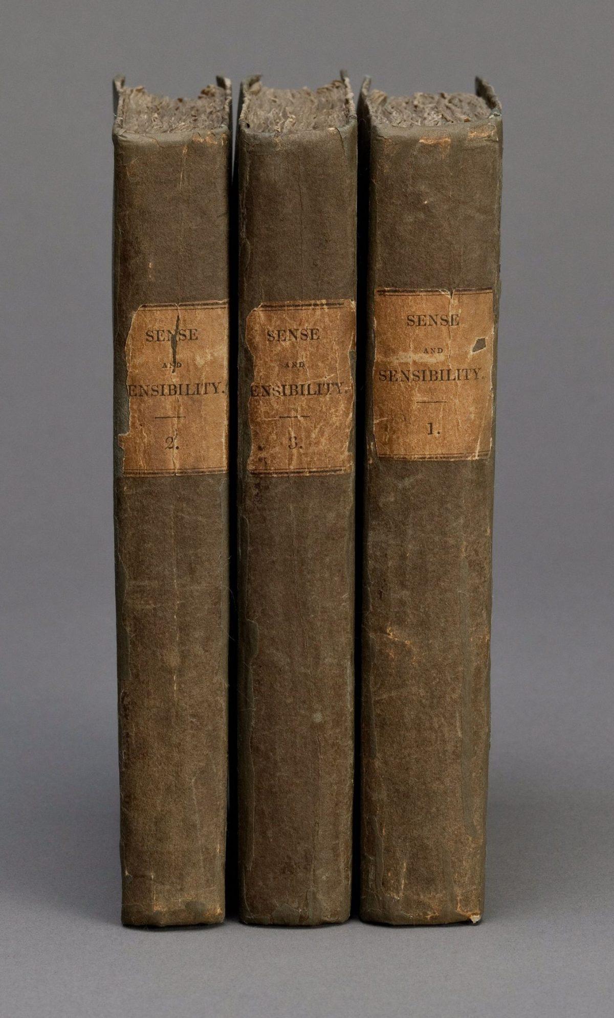 Sense and Sensibility First Edition Jane Austen