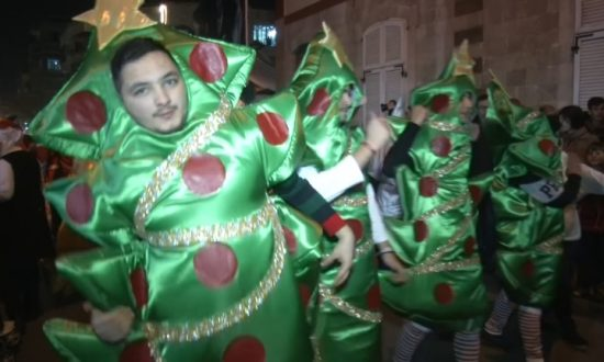 Damascus Brings in Festive Season With Massive Christmas Parade