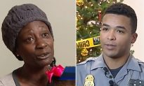 Officers chip in to buy family $800 worth of Christmas gifts after mom reports son 'missing'