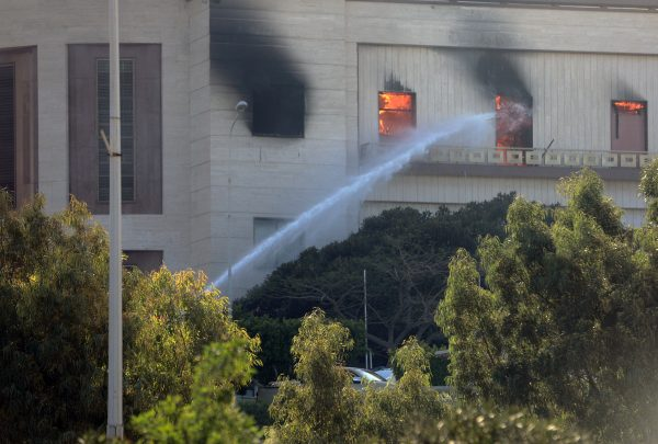 Militants attack Libyan Foreign Ministry