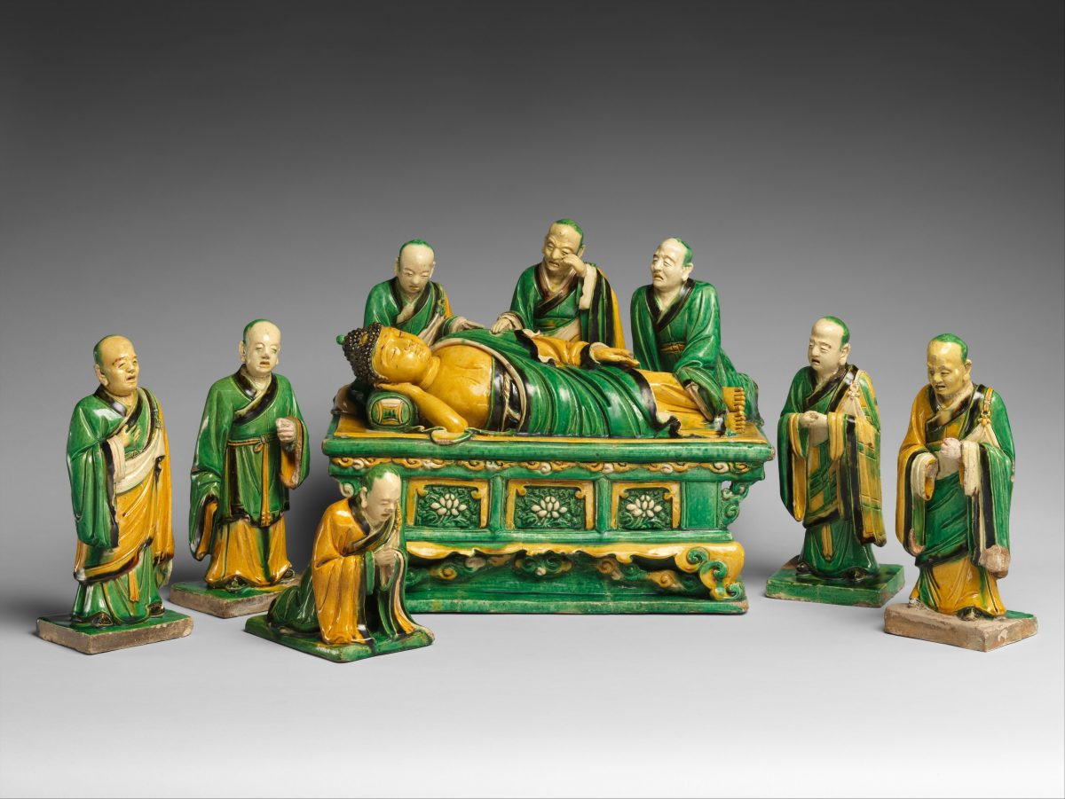Buddha with 8 immortals