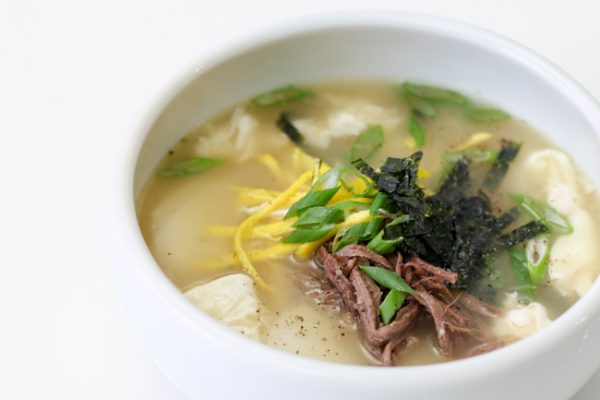 rice cake soup- bobby yoon