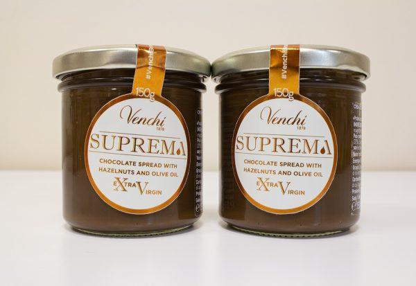 suprema chocolate spread from venchi