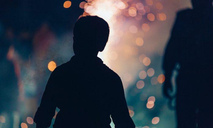Silhouette of little boy. (Varshesh Joshi/Unsplash)