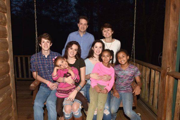 DeGarmo with family