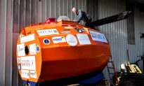 Frenchman Sets Off to Cross Atlantic Ocean in a Barrel