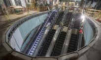 Deep Underground, New NYC Train Hub Slowly Takes Shape