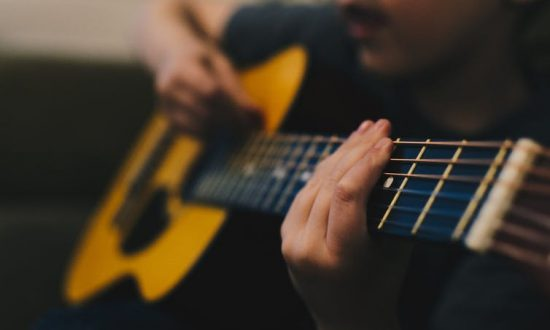 Do you want to learn how to play guitar? Write down why that's important to you. (Kelly Sikkema/Unsplash)