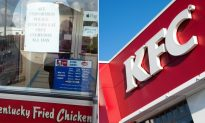 KFC Under Fire for Controversial Sign, but Affirms Their Decision—'It Stays Up'
