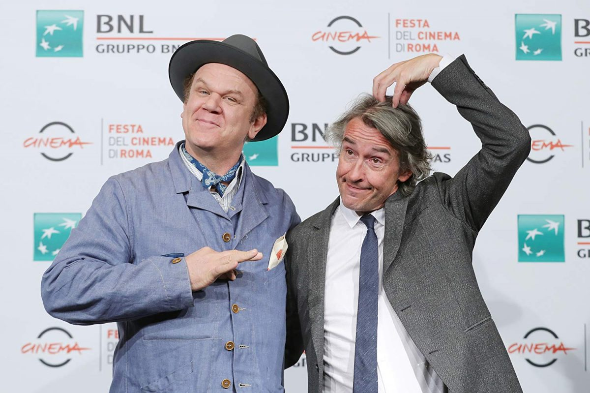 John C. Reilly and Steve Coogan at an event